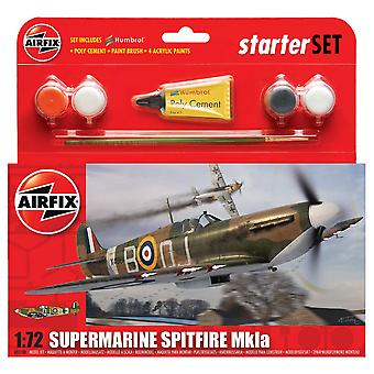 Airfix A55100 1:72 Schaal Supermarine Spitfire MkIa Starter Set Model Kit