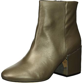 Kenneth Cole New York Women's Reeve 2 Block Heel Bootie Ankle Boot, Grey, 8 M...
