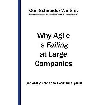 Why Agile is Failing at Large Companies and what you can do so it wont fail at yours by Winters & Geri Schneider