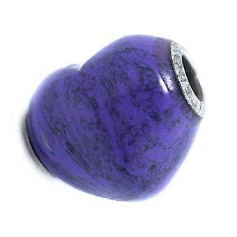 Ladies'Beads Viceroy VMM0200-03 Purple Silver (1 cm)