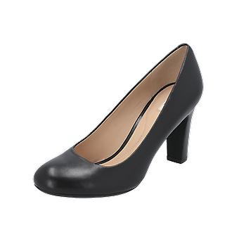 Geox D NEW MARIELE HIGH A Damen Pumps Schwarz High-Heels Stilettos Absatz-Schuhe