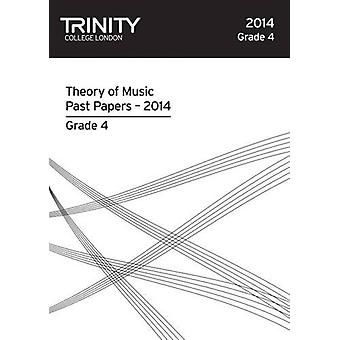 Theory Past Papers Grade 4 2014 by Trinity College London - 978085736