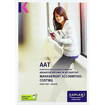 MANAGEMENT ACCOUNTING - COSTING - STUDY TEXT by KAPLAN PUBLISHING - 97