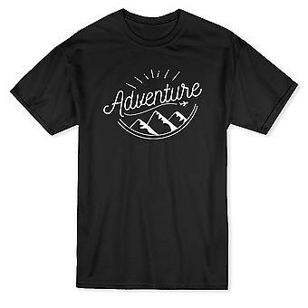 Äventyr bergen grafisk mäns T-shirt
