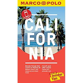 California Marco Polo Pocket Travel Guide - with pull out map by Marc