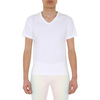 Maison Margiela S30gj0007s20299971 Heren's White Cotton T-shirt