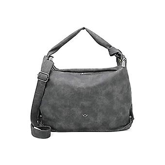 Fritzi AUS Preussen Bina-sacos de ombro das mulheres negras (Anthra) 10.5 x39x28 cm (W x H L)