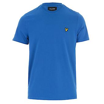 Men's Lyle And Scott Crew Neck T-Shirt in Blue