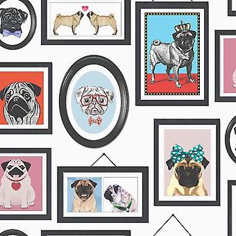Un pugile vita Foto straprima i cani K9 Canino Canino Animali Holden Arredamento