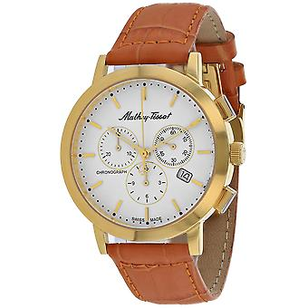 Mathey Tissot Men's Sport Classic White Dial Watch - H9315CHPLI