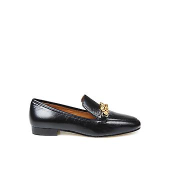 Tory Burch 74028006 Women's Black Leather Loafers