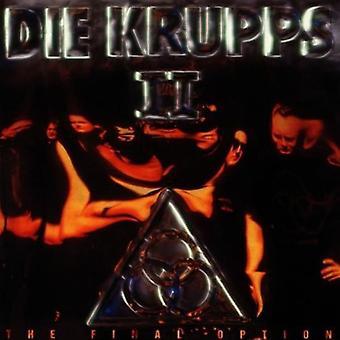 Die Krupps - II: The Final Option [Vinyl] USA import