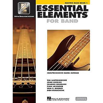 Essential Elements for Band - Electric Bass Book 1 with Eei by Variou