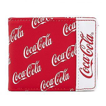 Coca Cola Logo Bifold Wallet par Loungefly