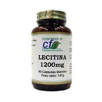 Lecithin 90 softgels of 1200mg