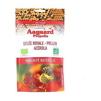 Royal jelly, Flower pollen, Acerola, ORGANIC Lucuma 200 g of powder