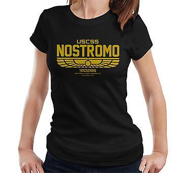 Alien uscss Nostromo logo kvinnor ' s T-shirt