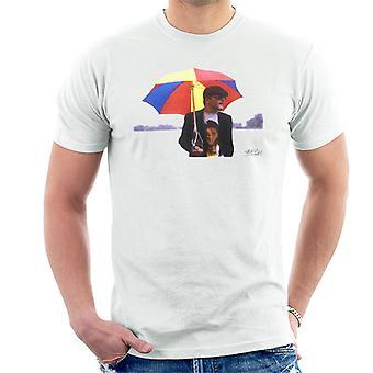 Ian Dury Regentag Regenschirm Herren T-Shirt