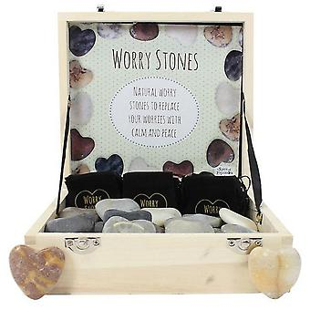 Something Different Heart Worry Stones (Box Of 36)