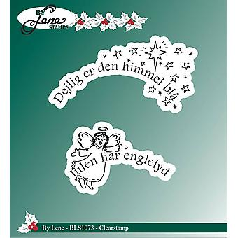 By Lene Clearstamps Danish Text