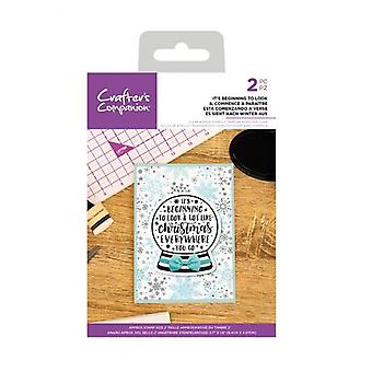 Crafter's Companion It's Beginning To Look Clear Stamps