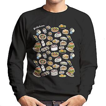 Gudetama Food Montage Men's Sweatshirt