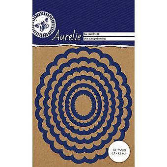 Aurelie Oval Scalloped Nesting Die
