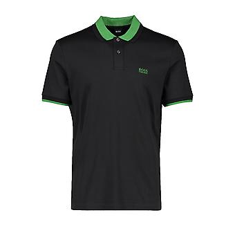 BOSS Casualwear Boss Parley 88 Polo Camicia Nera