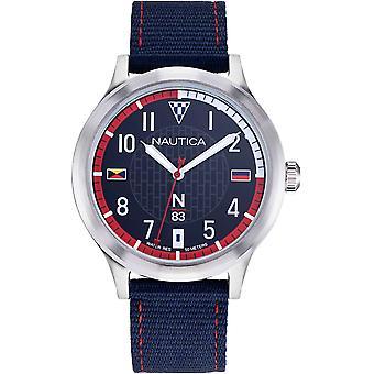NAPCFS910, Náutica Crissy Campo Relojes para Hombre -Azul