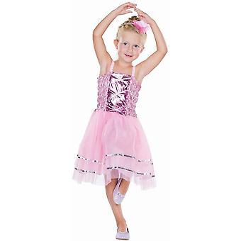 Ballerina Kinder Tänzerin Kostüm Sportlerin Prinzessin Karneval