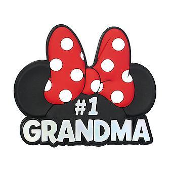 Magnet - Disney - Minnie Head - Grandma - RED/PINK 85611