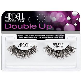 Ardell Double Up Handmade False Lashes - Double Demi Wispies - Double Layered