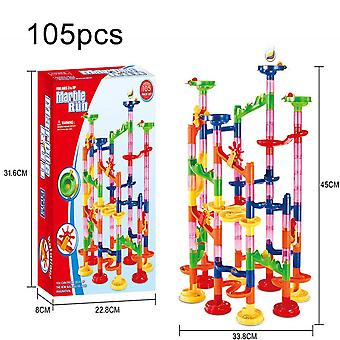105 Pcs Construction Marble Tracks Jeu éducatif