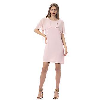 Trussardi Jeans P Light Pink Dress TR996262-IT40-XS