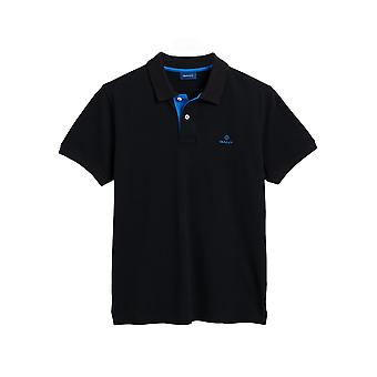 Gant Men's Short Sleeve Polo Shirt Regular Fit