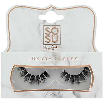 SOSU Luxury 3D-effect valse wimpers - Hailey - Instant Lengte en Volume