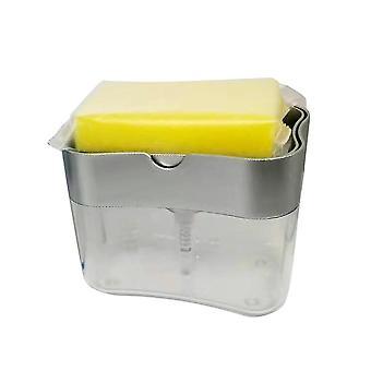 Wasserbeständige Seifenspender Pumpe - Toilette Waschen Badezimmer Hand Push Abs Küche Haus Schwamm Halter