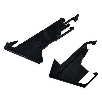 Eject & power button set for ps4 cuh-1200 console replacement - black | zedlabz