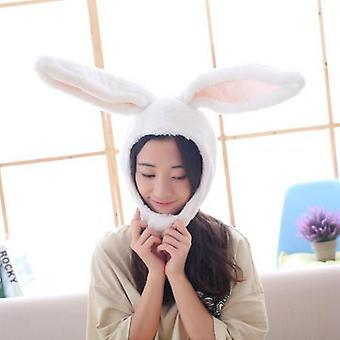Rabbit Ear Design Hat-warm, Hook And Loop Closure