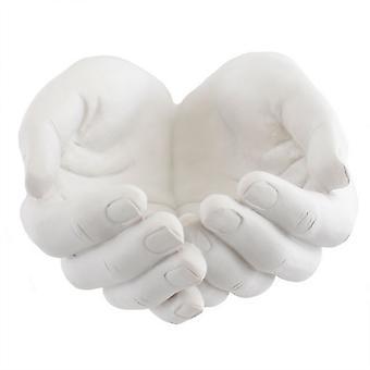 Noget andet Healing hænder harpiks Ornament