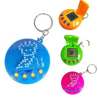90 年代怀旧塔马戈奇电子钥匙圈 - 虚拟宠物玩具