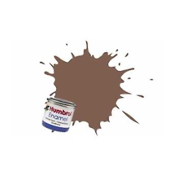 Humbrol emali maali 14ML n 186 Brown - Matt