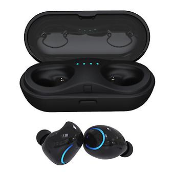 HBQ Q18 Wireless Earbuds - TWS Earbuds True Touch Control Earbuds Earbuds Bluetooth 4.2 Wireless Buds Earphones Earphones Black