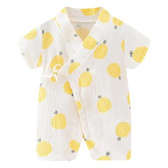 Pasgeboren Baby Robe Floral, Romper Jumpsuit Kleding - Summer Dress