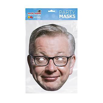 Mask-arade Michael Gove Celebrities Party Face Mask