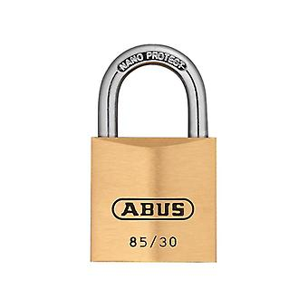 ABUS 85/30mm Brass Padlock Carded ABU8530C