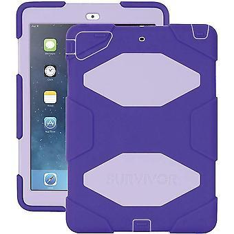 "Griffin Survivor All-Terrain Military Case & Kick Stand pour iPad Air 9.7"" Purple"