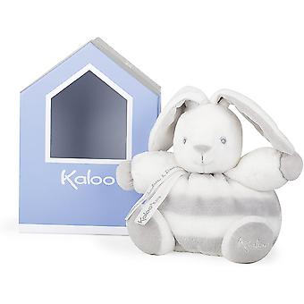 Kaloo - pastel chubby grey rabbit in a gift box