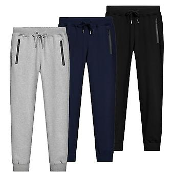 Mens Joggers Casual Pants, Fitness Men Sportswear Tracksuit Bottoms
