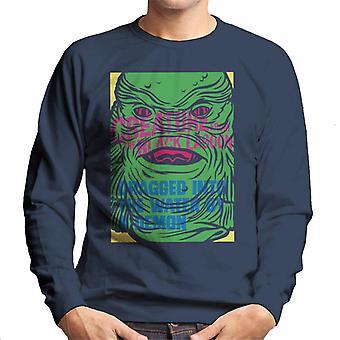 The Creature From The Black Lagoon Demon Water Head Men's Sweatshirt